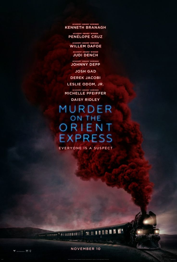 Check out the much anticipated first movie trailer for Murder on the Orient Express & start collecting clues now. #OrientExpressMovie
