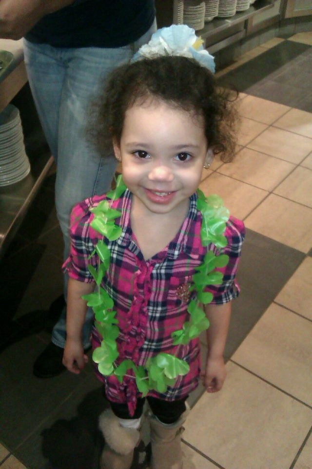 My Little Niecy-Poo, Gigi!! This girl can definitely brighten your day, with her antics!! Love her!!