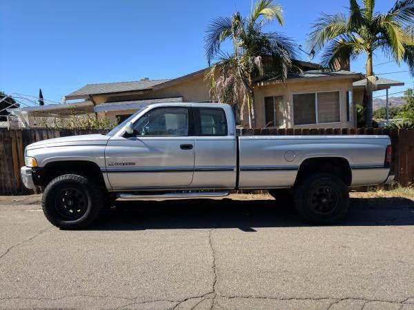 1996 Dodge Ram 2500 44 V10 Cold AC 35 tires 310hp 450ft lbs tq