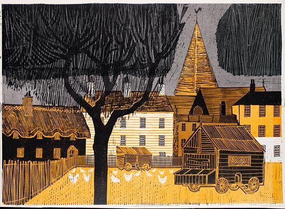 Robert Tavener Kentish Village (No.1)