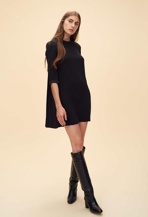 Robe baby-doll dos plissé   Spotted    ღ   Pinterest   Babydoll dress, Robe  et Dresses c9854317a850