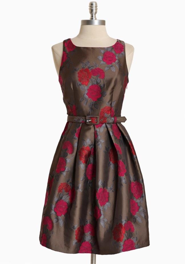 Starlette Rose Pleated Dress By Eva Franco | Modern Vintage Dresses: Fashion, Style, Starlette Rose, Pleated Dresses, Closet, Eva Franco, Wear