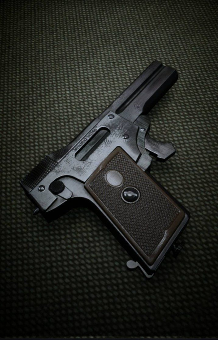 Spp 1 underwater pistol - The Tiniest Pistol In Bf1 The Kolibri By Karma45