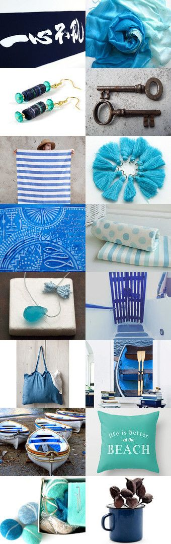 September Blues by Sun San on Etsy--Pinned+with+TreasuryPin.com