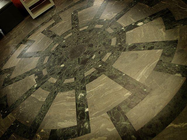 Schwarze Sonne on the floor of Wewelsburg castle