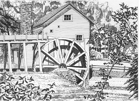 Home grist mill plans