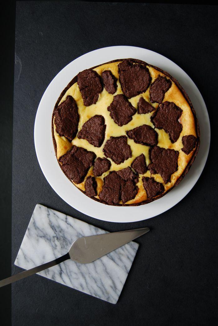 Chocolate Ricotta Cheesecake - Russischer Zupfkuchen ° eat in my kitchen