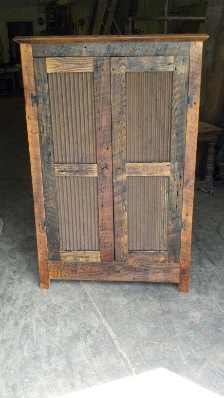 Barn Wood Pie Safe Rustic Furniture Diy Pie Safe