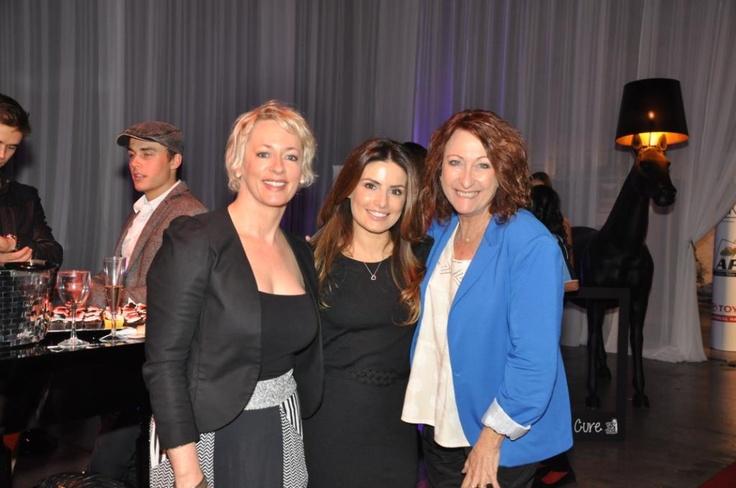 Amanda Keller, Ada Nicodemou & Lyn McGranger