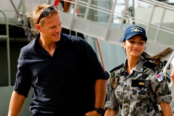 """Sea Patrol: Series 4, Episode 1 - """"Night of the Long Knives"""" New crew members Bird and Dutchy meet for the first time."""