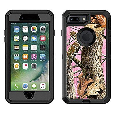 Skin Decal for Otterbox Defender Apple iPhone 7 Plus Case - Camo Tree on Pink For Apple iPhone 7 Plus:Amazon