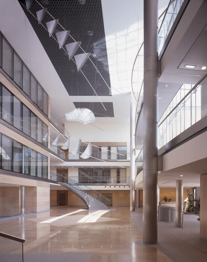UCB HQ | Offices, Industries | Assar Architects