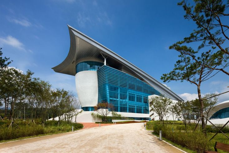 Gyeongju Arts Center by Samoo Architects & Engineers