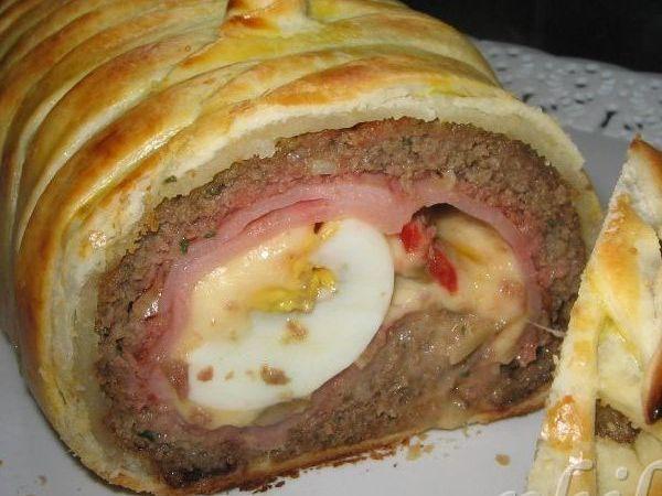 pan de carne en hojaldre(foto-receta)