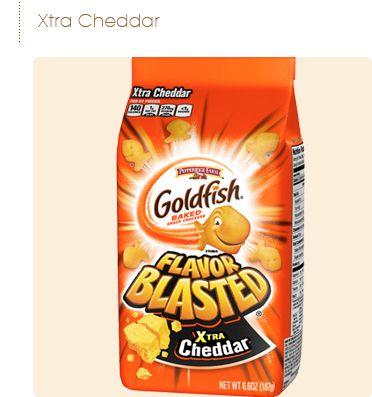 Pepperidge Farm® - Goldfish® Flavor Blasted® Xtra Cheddar