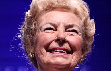 In her radio address yesterday, Phyllis Schlafly took on the issue of domestic violence and sexual assault, which she said could be eliminated if women would just get married instead of focusing so mu