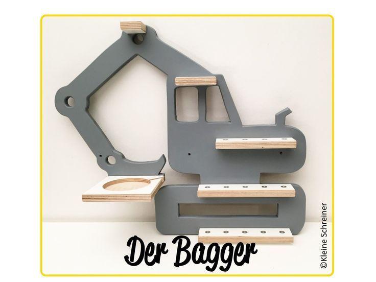 Bagger Regal für die Toniebox und Tonies – #Bagger #die #für #Regal #Toniebox #Tonie