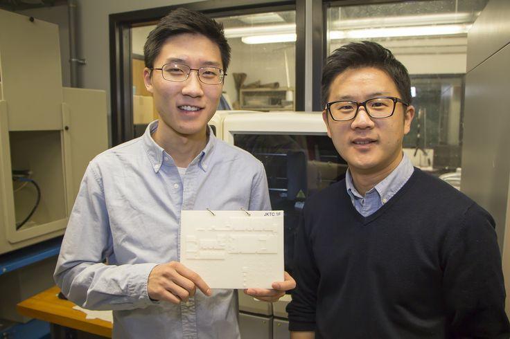 Grazie alla tecnologia delle stampanti 3D, Jason Kim, giovane studentedi ingegneria meccanica della Rutgers University insieme ad un suo professore è riuscito a progettare delle sofisticate mappe Braille per permettere ai non vedenti di orientarsi…