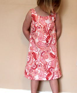 sew easy being green: Basic A-Line Dress Tutorial