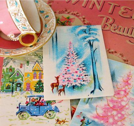 50 Best Christmas Vintage Cards Amp Paper Images On
