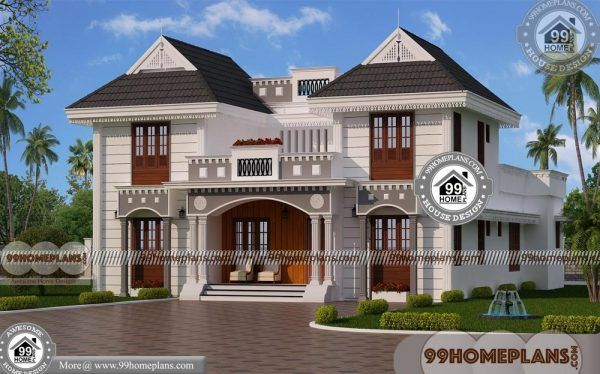 Architecture House Design 70 Two Storey House Design With