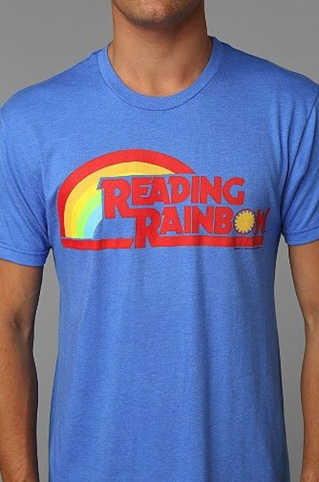 Reading Rainbow Shirt   37 Ways To Proudly Wear Your Love Of Books