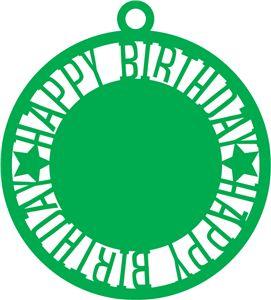Silhouette Design Store: happy birthday tag