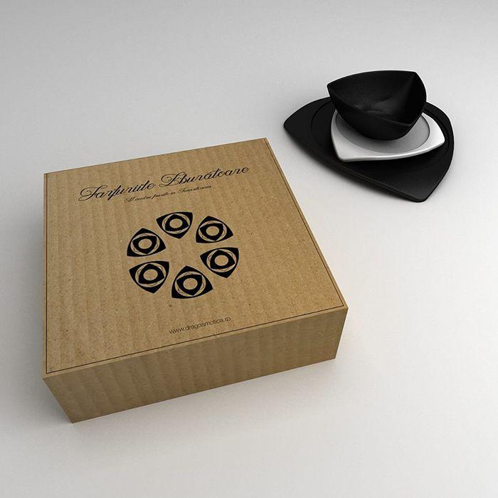 It's black, it's white? three in a box-designer matte ceramic plates by ubikubi