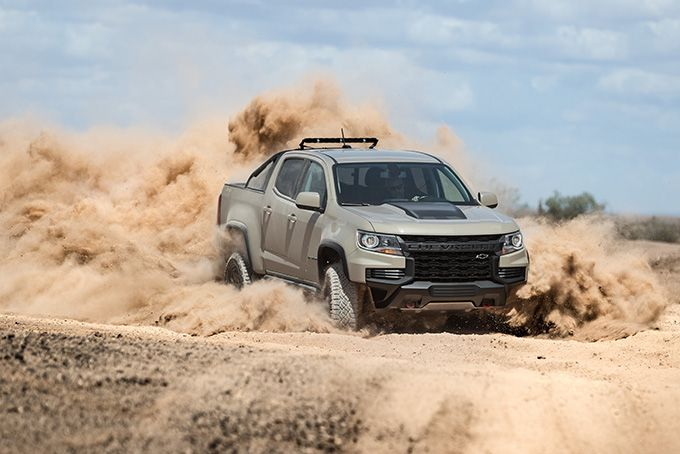 2021 Chevy Colorado Zr2 Pickup Truck Hiconsumption Chevy