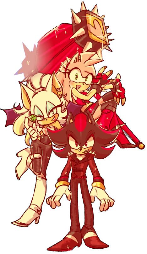 Quick Team dark feat. Amy Rose.