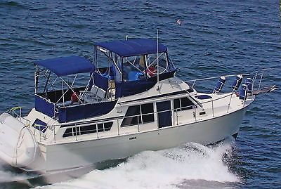 1985 Tollycraft 34 Sun Deck Cruiser - Fresh Water Boat