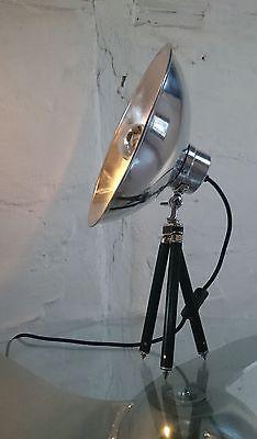Tripod dreibein steh tisch arzt lampe strahler foto stativ antik retro bauhau - Lampe vintage occasion ...