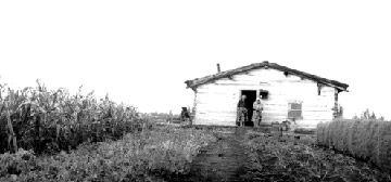 Métis farm house