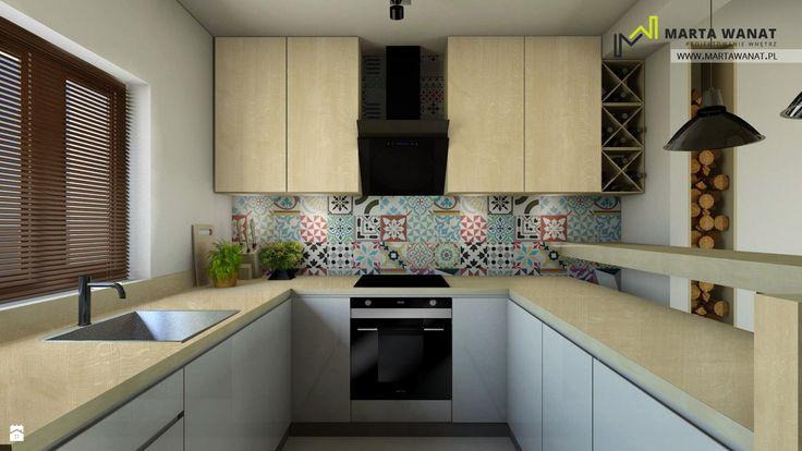 Dom w Zielonkach - zdjęcie od Marta Wanat Projektowanie wnętrz - Kuchnia - Styl Skandynawski - Marta Wanat Projektowanie wnętrz