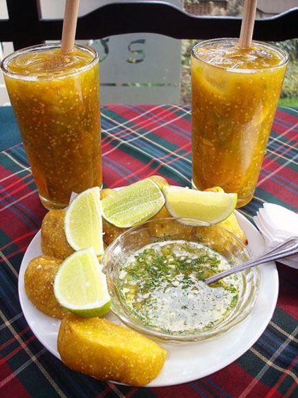 Bebidas Típicas Colombianas