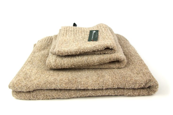 Vita Towel, Beige – rikumo