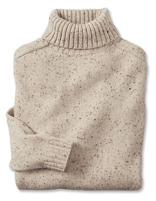 Just found this Mens Turtleneck Sweater - Wool-Cashmere Donegal Turtleneck -- Orvis UK on Orvis.com!