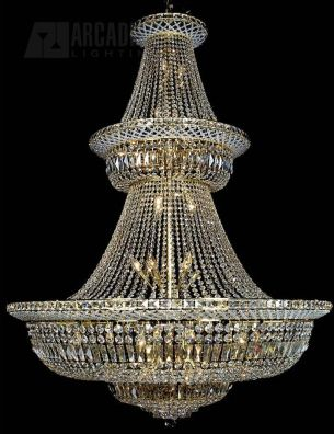 48 Light Crystal Chandelier
