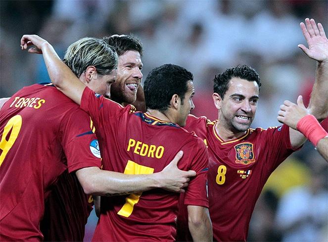Spain, soccer
