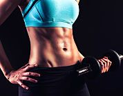 The Secret to Super-Tight Abs--customizable weight lifting workout. Great for beginners.