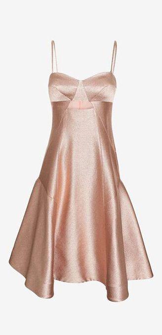 Jonathan Simkhai Metallic Ball Dress