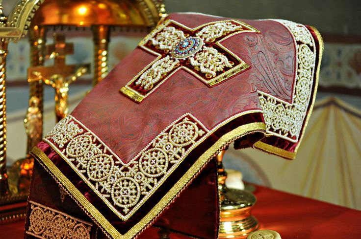 contemporary Russian ecclesiastical embroidery