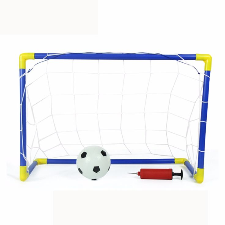 Children Outdoor/Indoor Games Sports Soccer Goals With Ball And Pump  Football Goal Toy Set