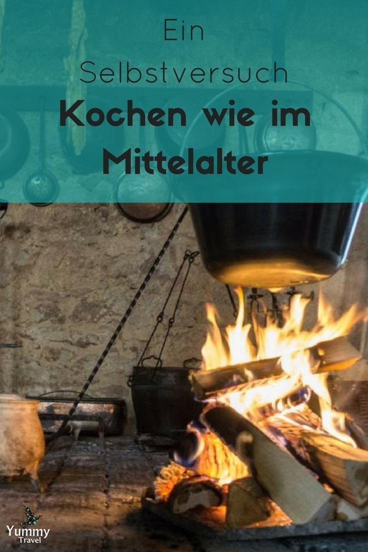 Ein Selbstversuch, Kochen wie im Mittelalter. Auf Schloss Rochlitz in Sachsen ist das möglich!
