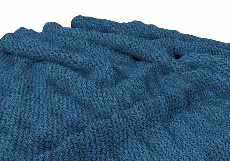 Knitting Loom Blanket : Large blanket using s loom knitting afghans and