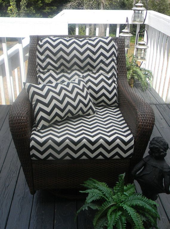Indoor / Outdoor Deep Seating Chair Cushion By PillowsCushionsOhMy, $149.99