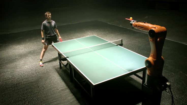 Professional Table Tennis Champion Timo Boll Scheduled To Play Match Against a Chinese Industrial Robot
