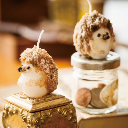 hedgehog candles