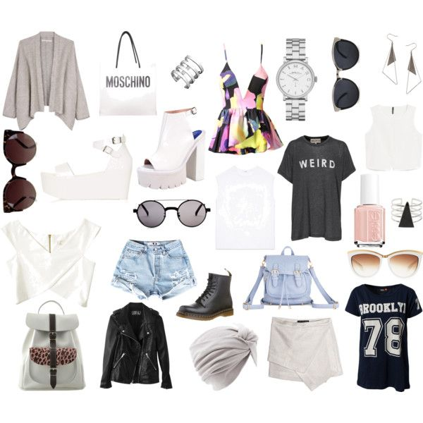"""""""Summer outfits"""" by louisesandstroms on Polyvore"""