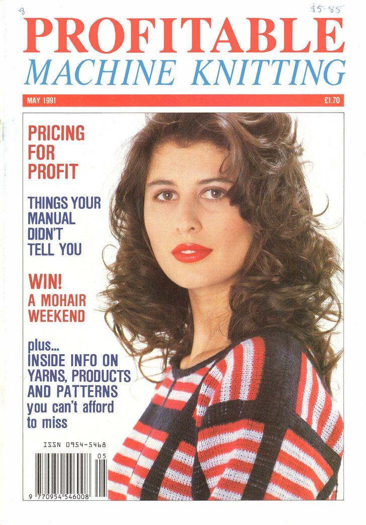 Knitting Magazine : ... Machine Knitting Magazine on Pinterest Modern, Magazines and Style